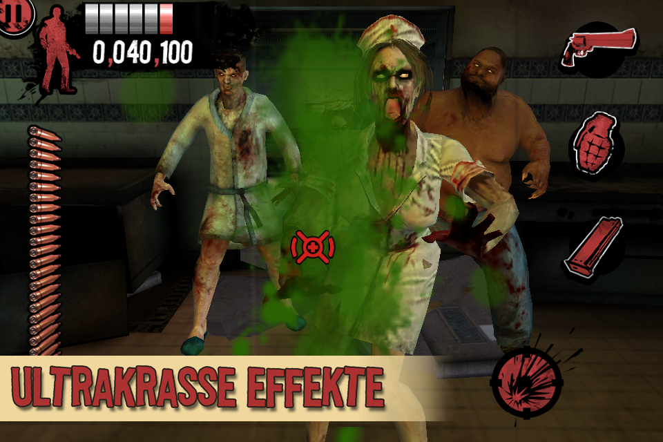 The House of the Dead: Overkill™- The Lost Reels iPhone, iPad Screenshot