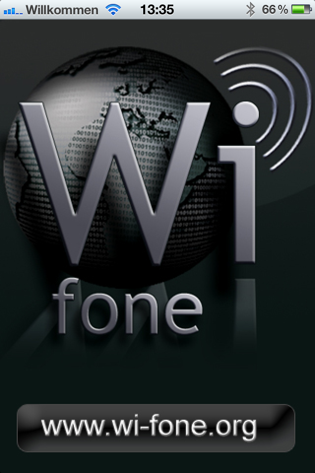 Wifone  - IAX2, SIP & SMS  - VoIP via 3G & Wifi (US-Version) Screenshot 1
